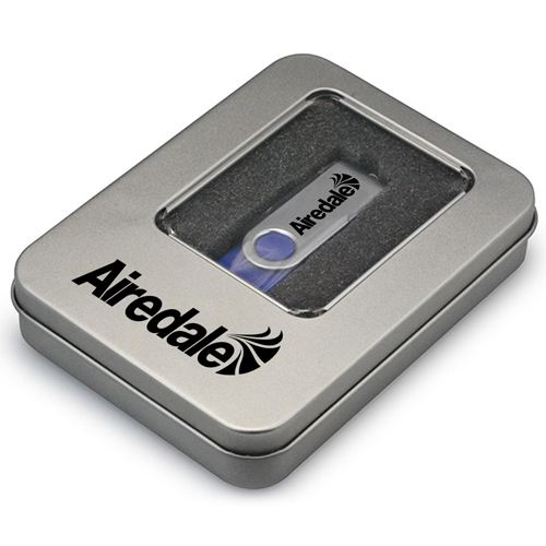 Window Flash Drive Tin Box Image 3