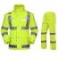 Reflective Safety Rain Jacket