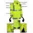Reflective Safety Rain Jacket Image 3