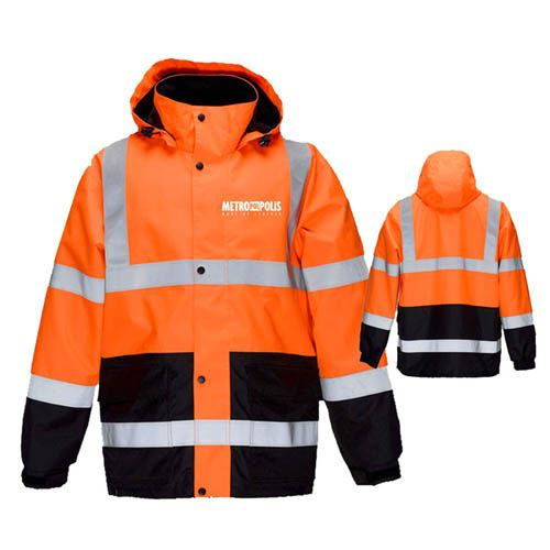 High Visibility Thermal Workwear Jacket