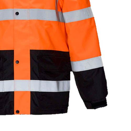 High Visibility Thermal Workwear Jacket Image 4