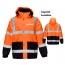 High Visibility Thermal Workwear Jacket Imprint Image