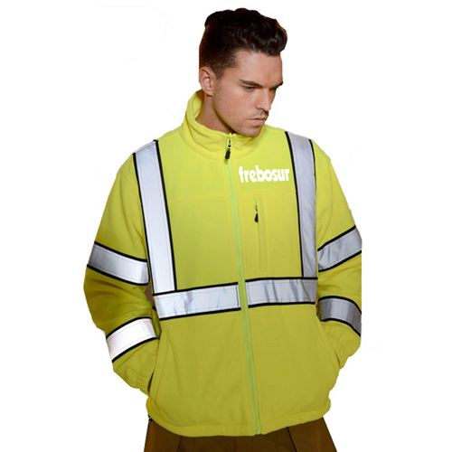 High Visibility Reflective Work Jacket