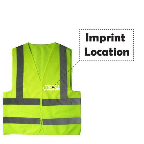 High Visibility Reflective Vest Imprint Image