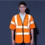 High Visibility Short Sleeve Safety Vest