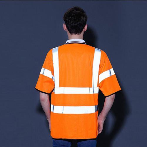 High Visibility Short Sleeve Safety Vest Image 1