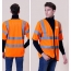 High Visibility Short Sleeve Safety Vest Image 2
