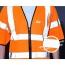 High Visibility Short Sleeve Safety Vest Image 4