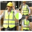 Building Construction High Visibility Safety Vest Image 1