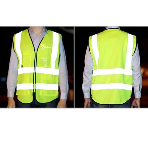 Building Construction High Visibility Safety Vest Image 2