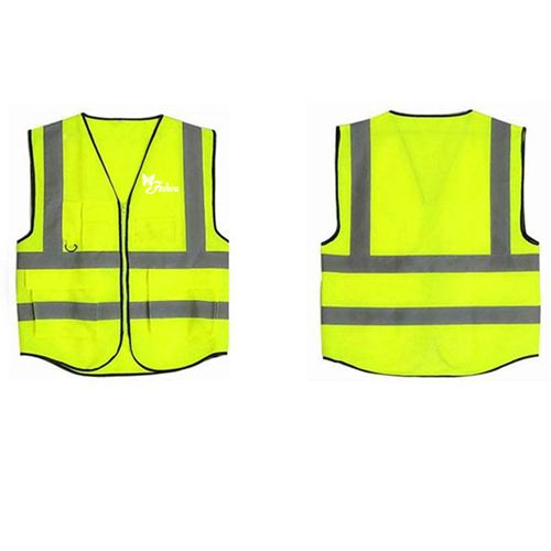 Building Construction High Visibility Safety Vest Image 3