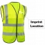 Building Construction High Visibility Safety Vest Imprint Image