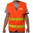 High Visibility Reflective Sanitation Coat