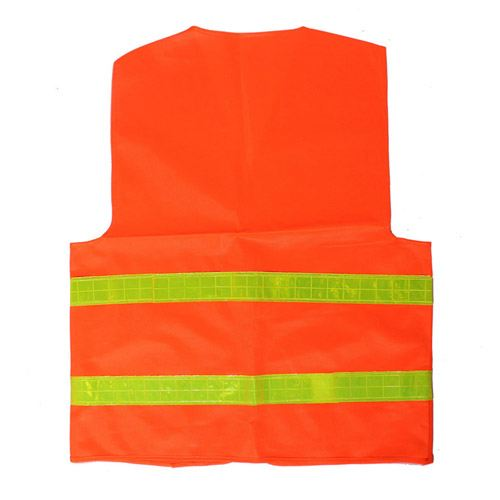 High Visibility Reflective Sanitation Coat Image 2