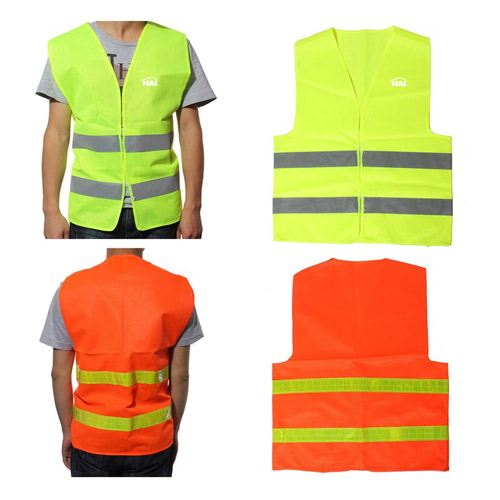 High Visibility Reflective Sanitation Coat Image 3