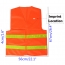 High Visibility Reflective Sanitation Coat Imprint Image