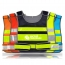 Working Running Reflective Stripes Safety Vest
