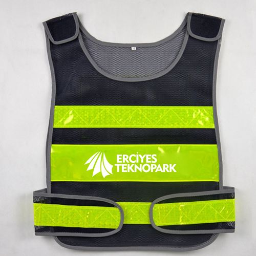 Working Running Reflective Stripes Safety Vest Image 1