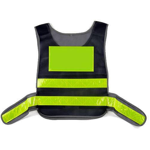 Working Running Reflective Stripes Safety Vest Image 2