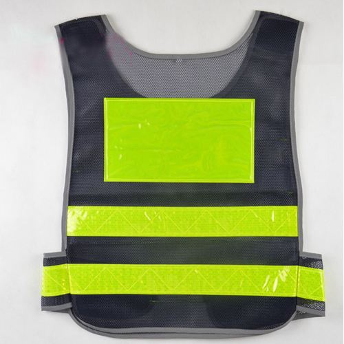 Working Running Reflective Stripes Safety Vest Image 3