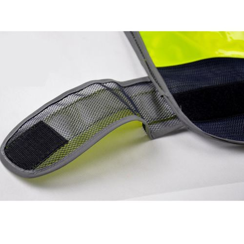 Working Running Reflective Stripes Safety Vest Image 5