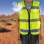 Multiple Pockets Reflective Safety Vest Image 1