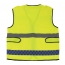 Multiple Pockets Reflective Safety Vest Image 3