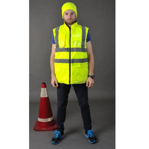 Cotton Padded Winter Outdoor Safety Vest
