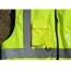 Cotton Padded Winter Outdoor Safety Vest Image 5