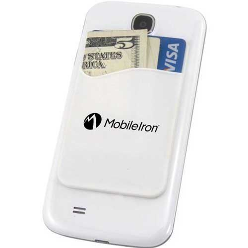 Promotional Smartphone Silicone Card Wallet Image 3