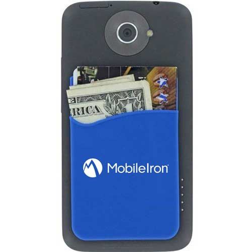 Promotional Smartphone Silicone Card Wallet Image 4