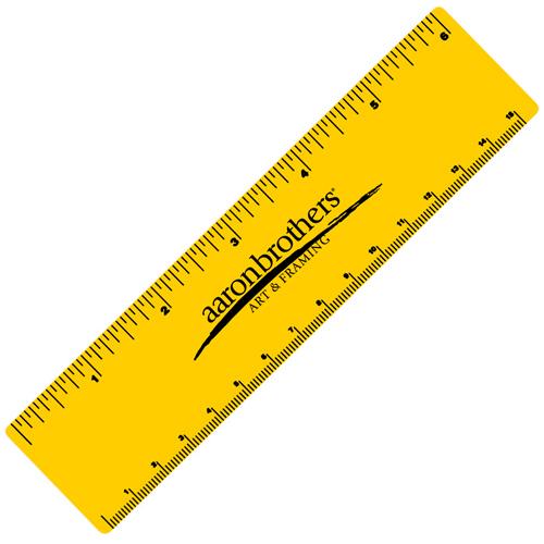 6 Inch Vinyl Ruler
