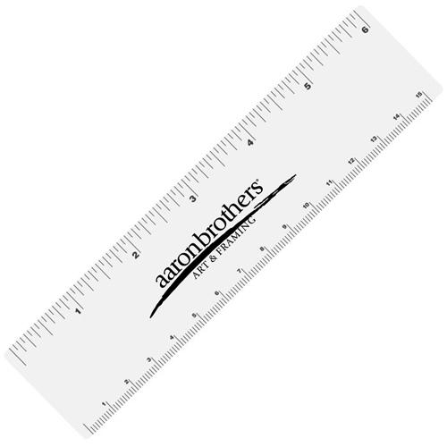 6 Inch Vinyl Ruler Image 1