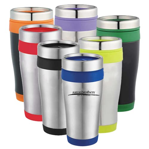 16 Oz Stainless Steel Custom Travel Tumbler