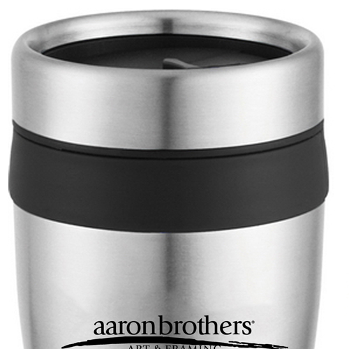 16 Oz Stainless Steel Custom Travel Tumbler Image 2