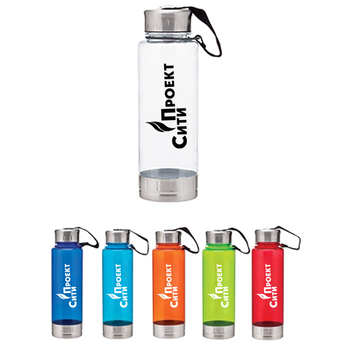23 Oz Fusion Sports Water Bottles Image 1