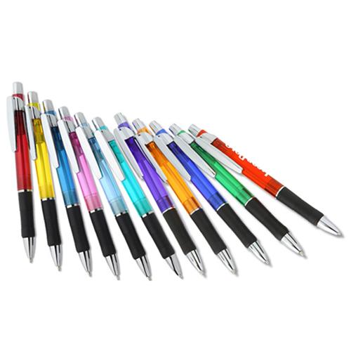 Translucent Slim Ballpoint Pen Image 2