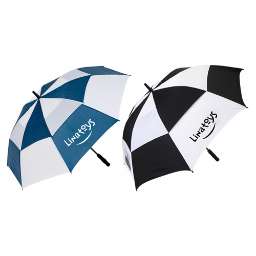 Dual Color Vented Golf Umbrella Image 1