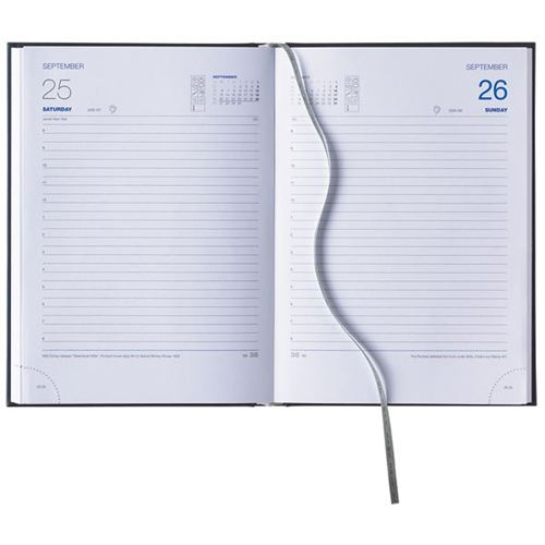 Padded Cover A5 Daily Diary