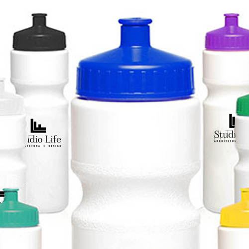 Push Cap 28 Oz Water Bottle Image 1