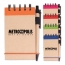Spiral Bound Kraft Jotter With Pen