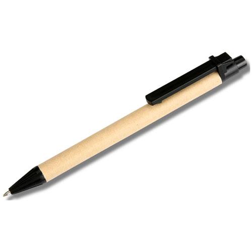 Spiral Bound Kraft Jotter With Pen