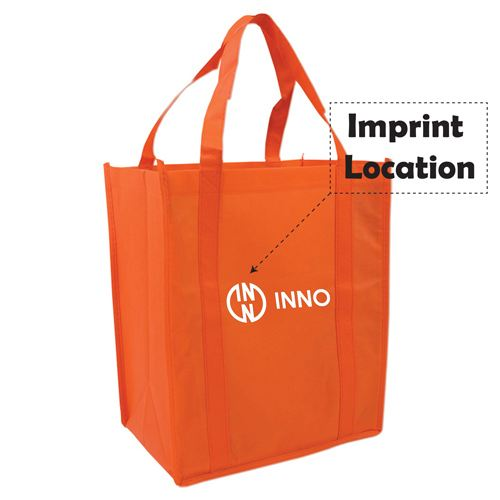 Non Woven Shopper Tote Bag Imprint Image