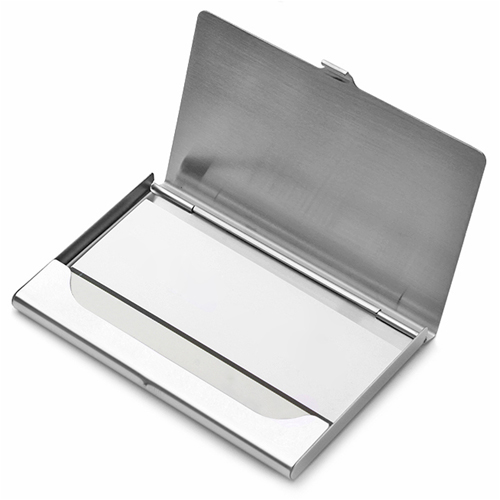 Aluminum Business Card Holder Image 1