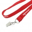 1cm Width Lanyard With Bulldog Clip Image 3