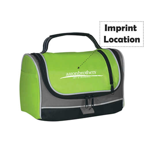 Insulated Zippered Lunch Bag Imprint Image
