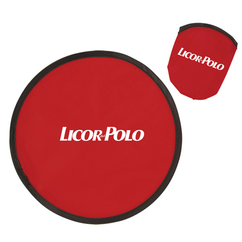 Flying 10 Inch Frisbee Disk With Pouch Image 3
