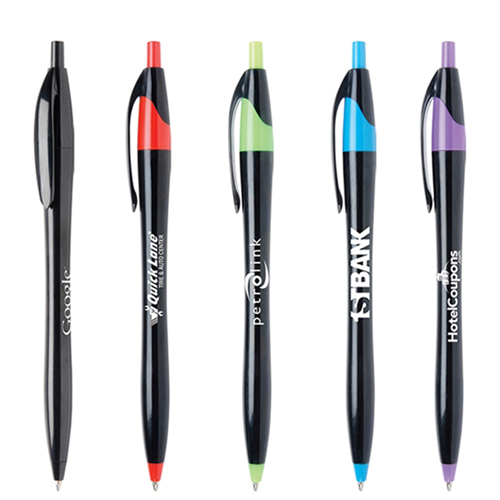 Stylish Retractable Ballpoint Pen Image 3