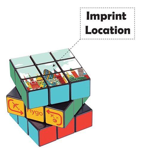 Custom Rubik's Cube Imprint Image