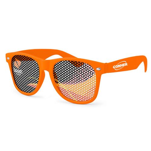 Pinhole Wayfarer Sunglasses Image 1